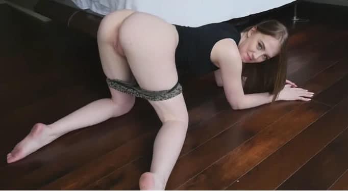 ¿Que os parece mi novia desnuda?