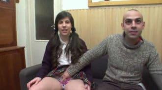 Española de 18 añitos, recien salida de clase