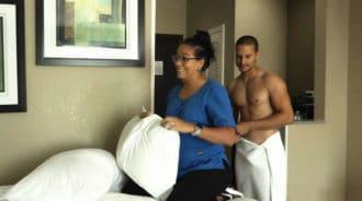 Consigue follarse a la chica de la limpieza en el hotel